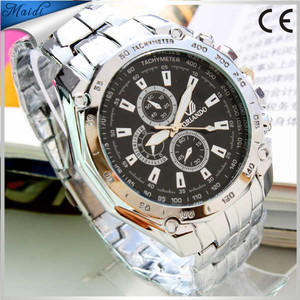 Fashion stainless steel and wood watches fashion sports mens watches Alibaba Cheaper
