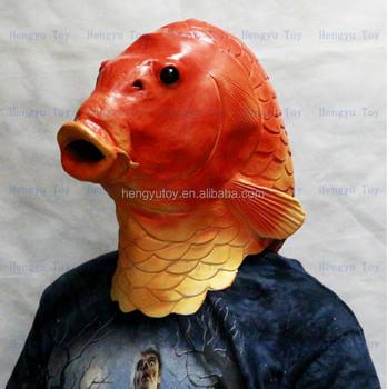 Carpa Peixe Realista Mascara Inspiracao De Verdadeiro Europeu