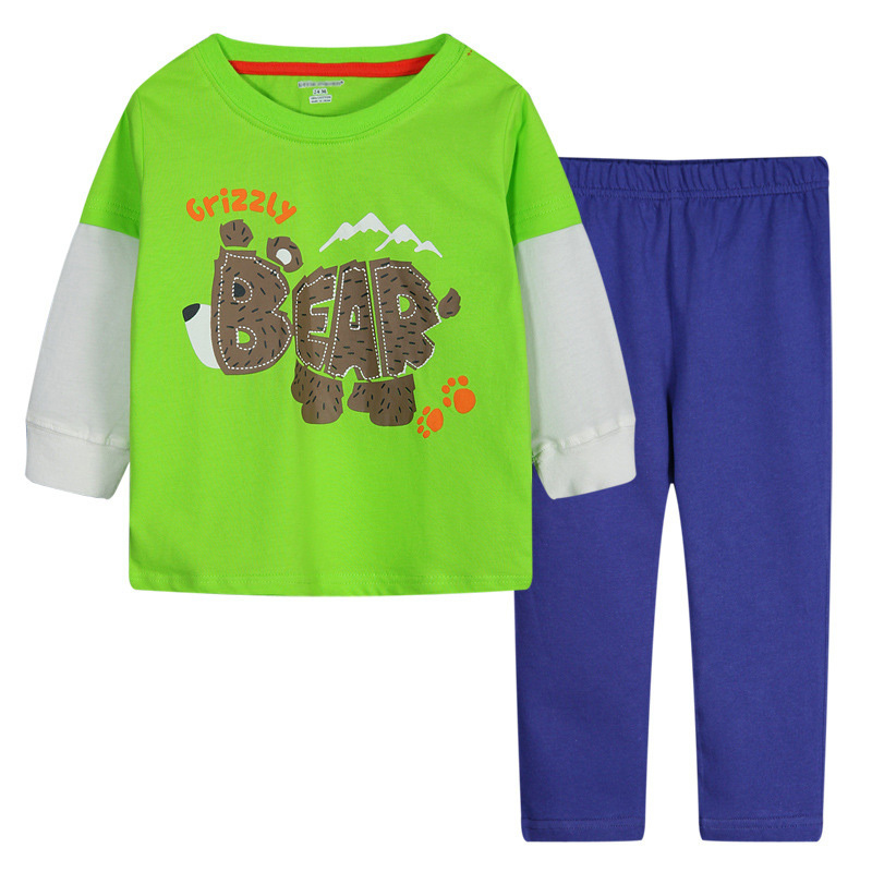 Full Casual Children Clothing Cotton Baby Boy Brand Baby Boys Clothing Sets Baby Boy Pants Autumn 2015 Winter Boys Clothing Sets