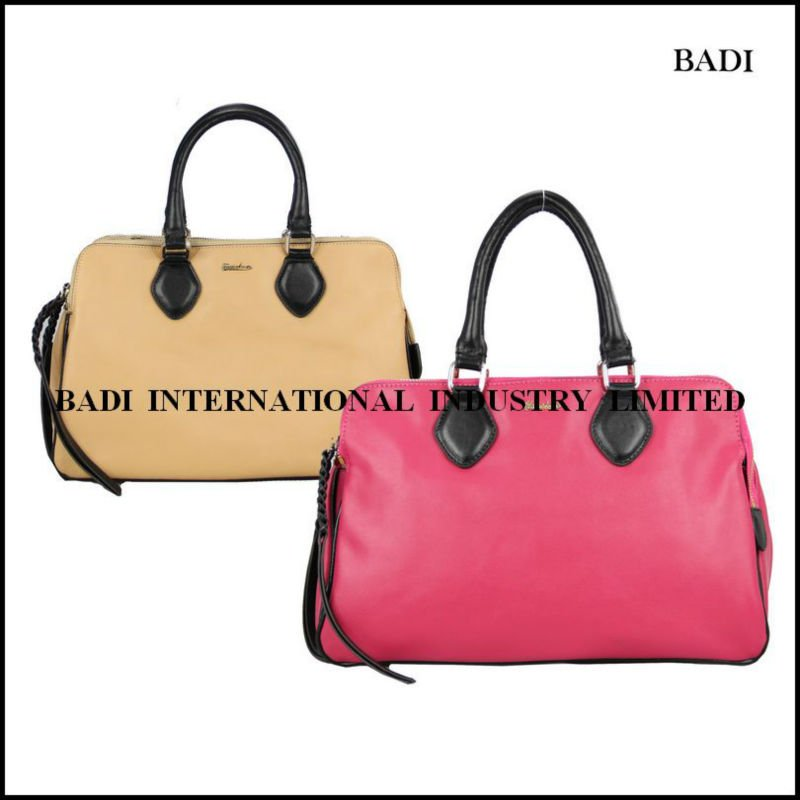 badi beautiful ladies handbags real leather handbags cowhide handbag