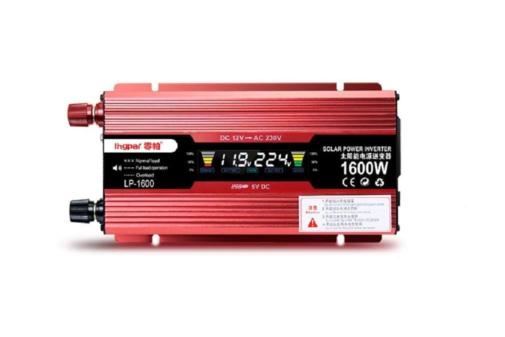 Car inverter/household inverter/12V/24V to 220V/digital dual display/1200W/1600W/2200W/2400W/household car inverter boosterCar inverter/household inverter/12V/24V to 220V/digital dual display