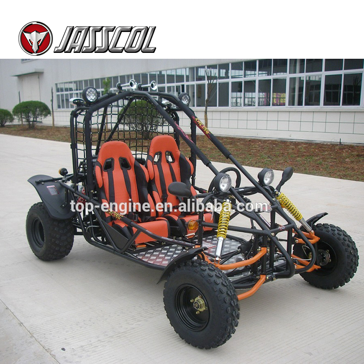 Chinese factory supply 200cc gas automatic dune 2 seat adult go kart buggy