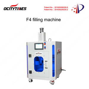 small and fast fill for 510 thread glass ceramic cartridge cbd filling machine