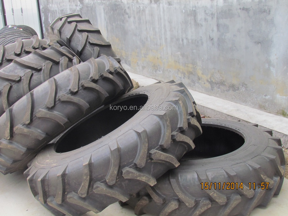 agricultural tractor tires 7.50-16 CHINA KORYO brand bias otr tire 750x16