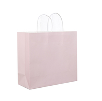 The spot delicate custom gift box Gilding paper bag Fashionable shopping Flat gift bag