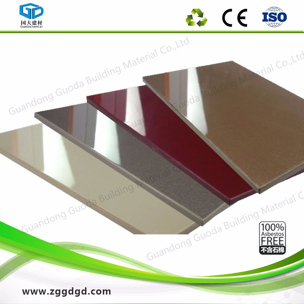 6mm Fiber Cement Board Calcium Silicate Board