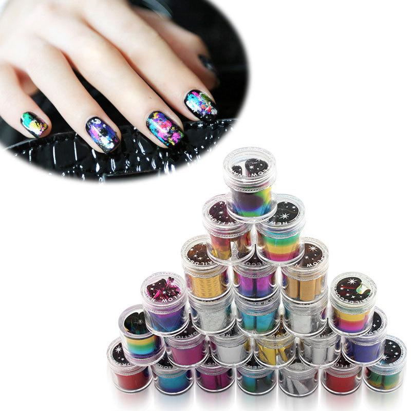 Buy 24pcs/lot HOT New French Nail Art Transfer Wraps Foil Beauty ...