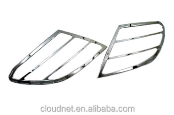 Chrome Tail Light Cover For Mercedes Benz W204 C Class Pre-Facelift