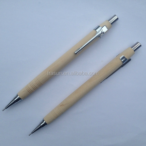 Mechanical Pencil Wooden Style 2b Pencil Standard Size Press Automatic Pencil