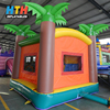 Kids Inflatable Toys Tropical Jungle Air Bouncer Palm Tree Inflatable Jumping Castle for Sale