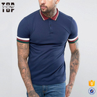 Slim fit clothing bulk wholesale 100% cotton mens polo tshirt