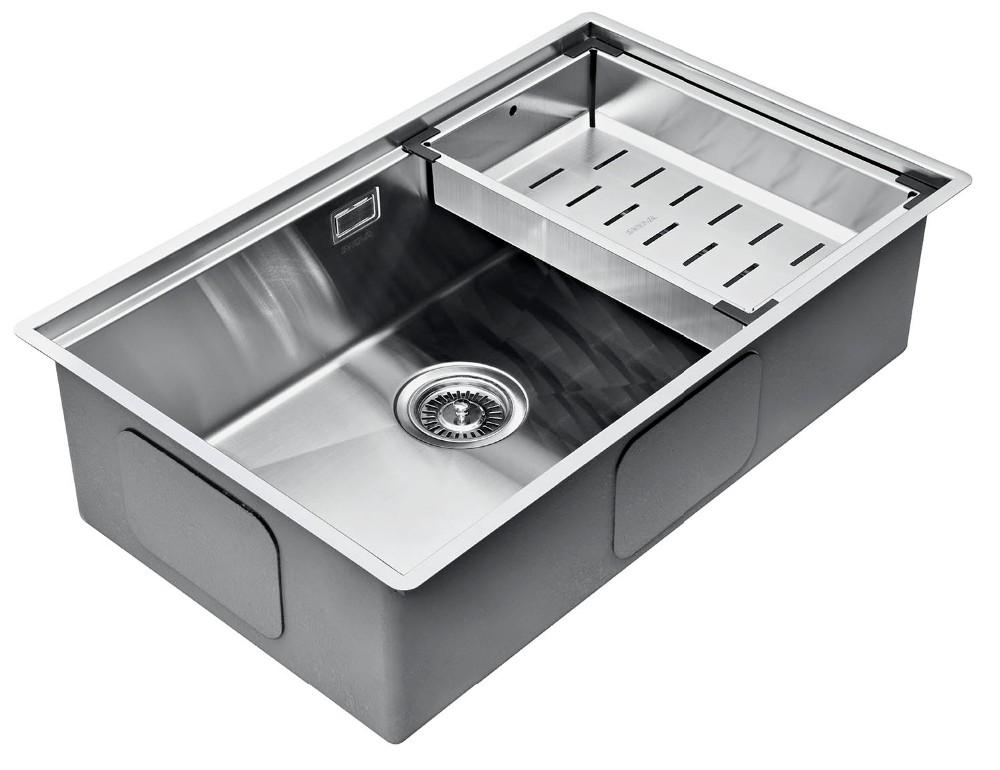 Undermount Handmade Single Bowl Stainless Steel Kitchen Sink Overflow - Buy  Kitchen Sink Overflow,Stainless Steel Kitchen Sink Overflow,Undermount ...