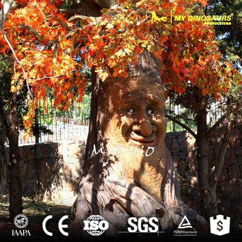 MY DINO-APS016 Animatronic Animated Talking Tree Autumn Tree for Festival