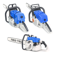Neotec Wood Cutting Machine High quality professional Chain Saws, Gasoline Petrol chainsaws