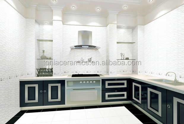Foshan 300 600 3d Inkjet Bathroom Tile Design Latest