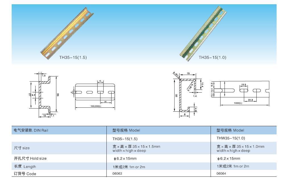 HTB144V8HXXXXXXMXFXXq6xXFXXXQ saipwell t din35mm iron rails,miniature circuit breaker din rail