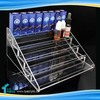 PMMA 5 Steps E Liquid Flavors Shop Best E Juice Display Stand Display Stairs