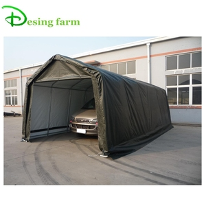 New design PE PVC 2 car garage parking canopy tent for sale