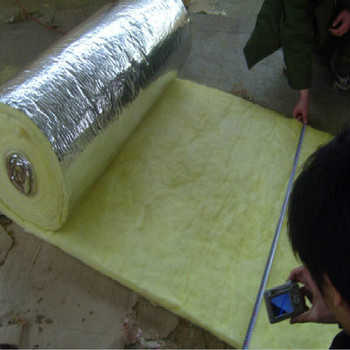 Fiber Glass Wool With Aluminium Foil Layer For Oven
