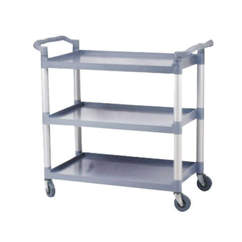 Hotel Articles Plastic Kitchen Trolley With Wheels