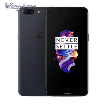 Original Oneplus 5 Snapdragon 835 Octa Core 5.5 Smartphone 6GB RAM 64GB ROM 16.0MP+20.0MP Rear Cameras Android 7.0 Global phone