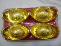 Fake Golden ingots,Golden bar,silver ingots , great wealth for the dead people