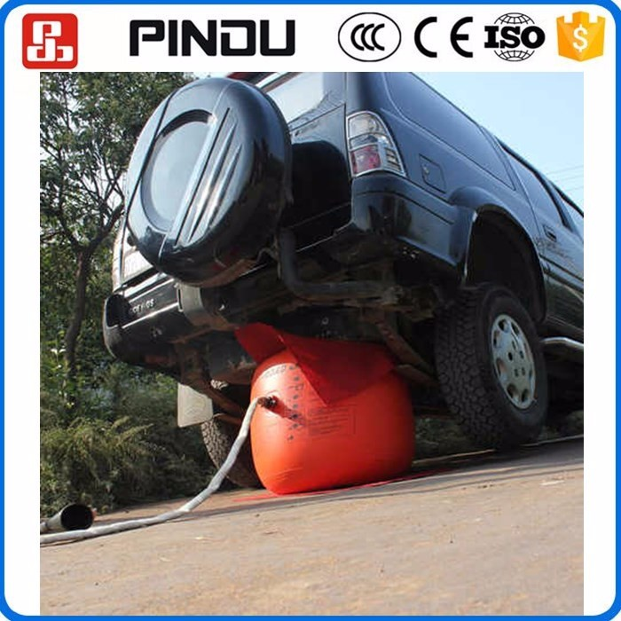 4ton Car Lifting Dual Exhaust Pump Inflatable Small Air Bag Bumper Jack