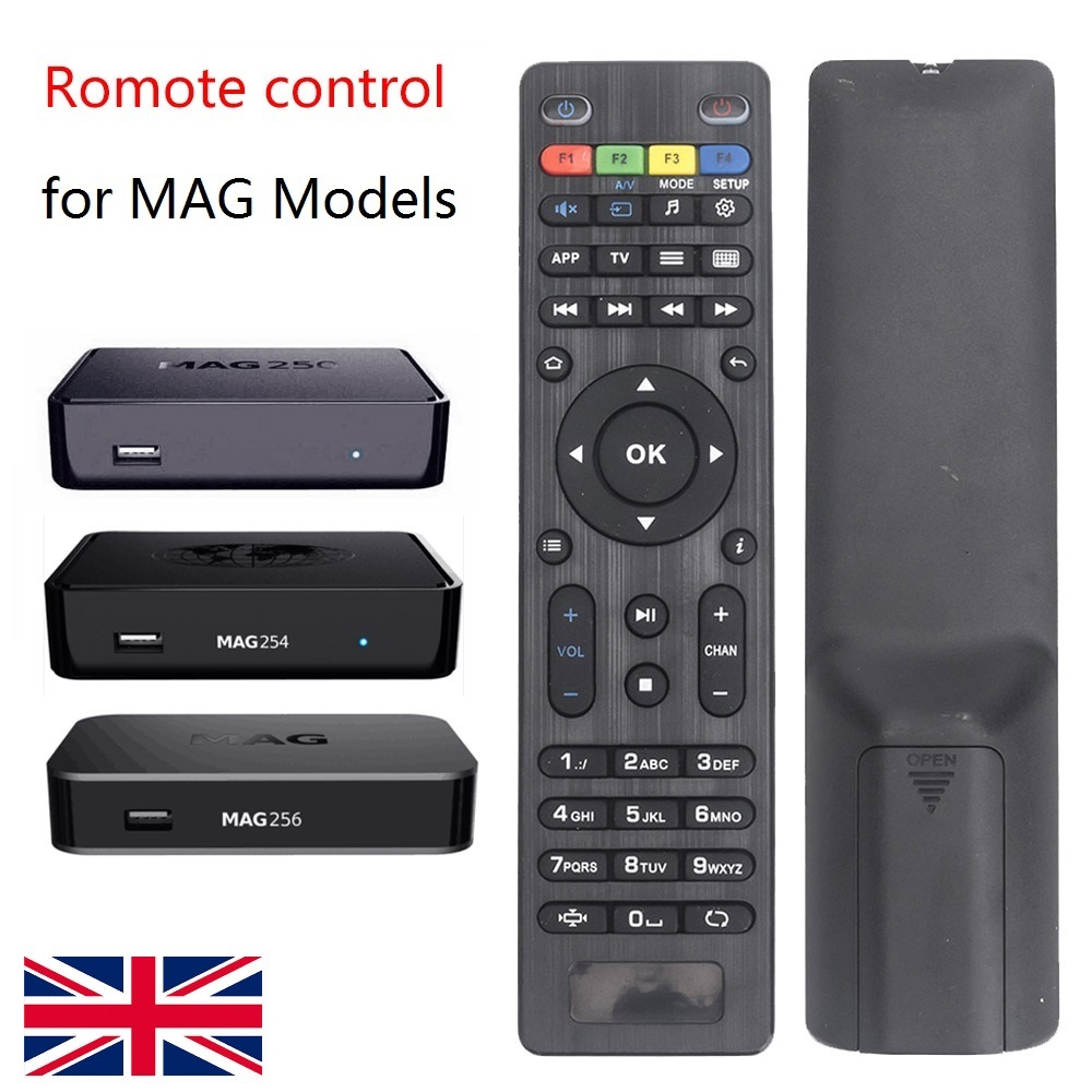 Hot selling set top box afstandsbediening voor mag 250 mag 254 IPTV box