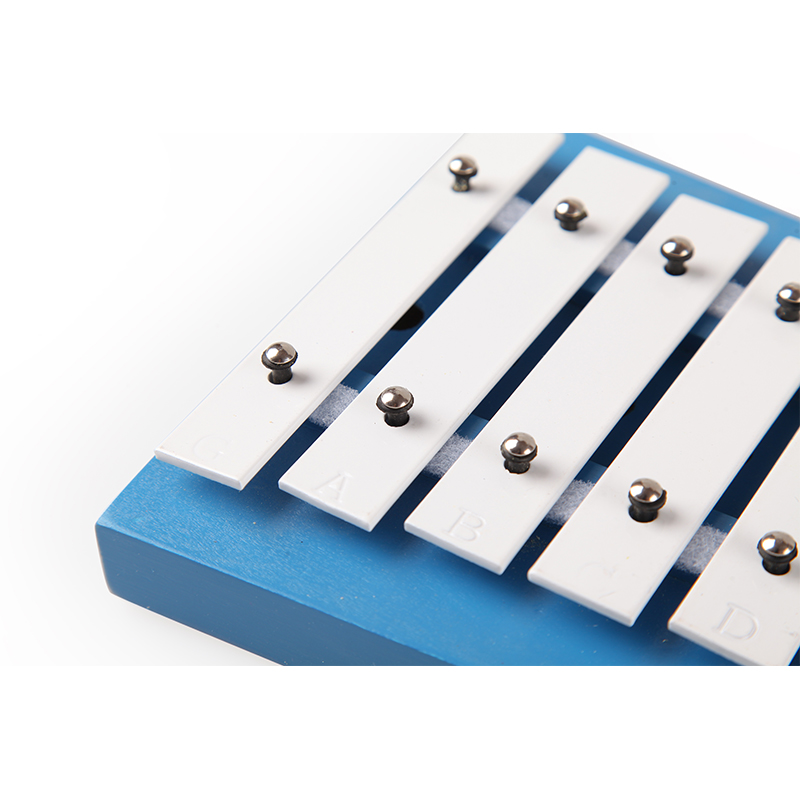 Wood xylophone with metal keys music instruments xylophone with Mallets