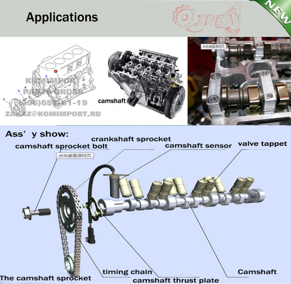 2018 2j For Toyota Forklift Engine Parts Camshaft 13511 48011 From Isuzu 4he1 Diagram Fe Custom Cam Shaft 85 12 420