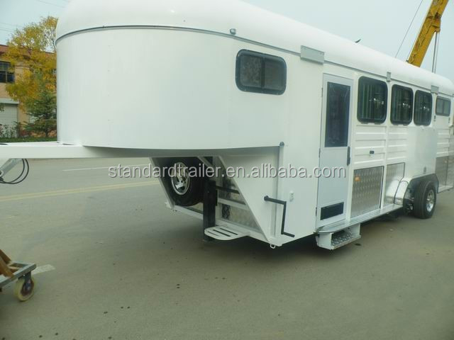 gooseneck horse trailers with living quarters