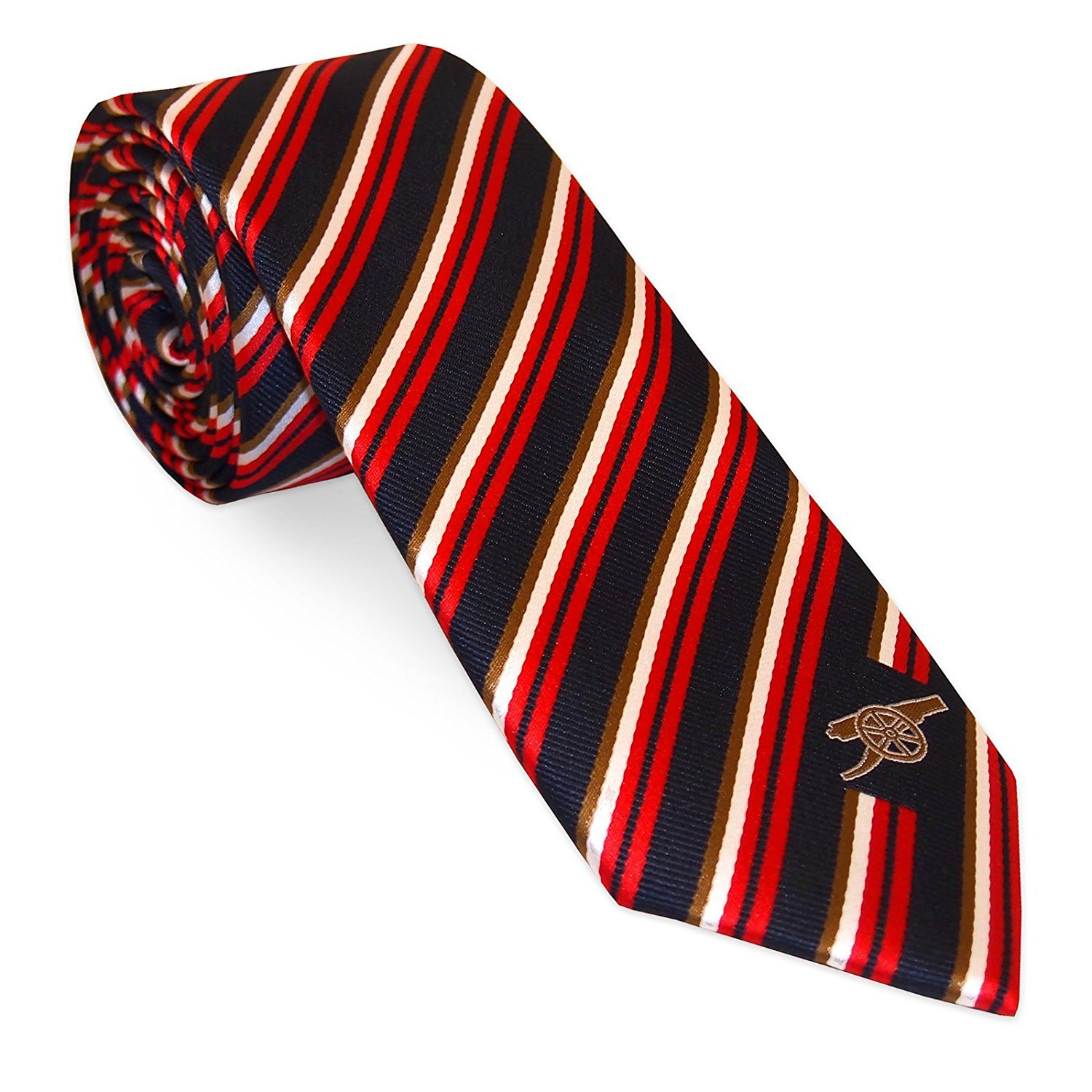 059fdbe63e0a Get Quotations · Arsenal Football Club Official Soccer Gift Club Crest Tie