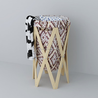 Popular Home Application Folding Canvas Foldable Basket to Storage Clothes,Kids Toys and Sundries