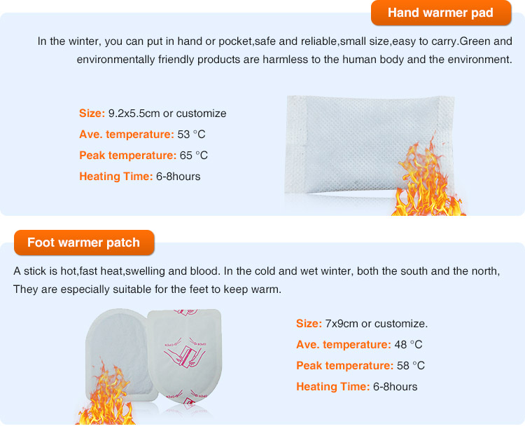 best seller on Alibaba body heat pad / essential oil therapy heating patch