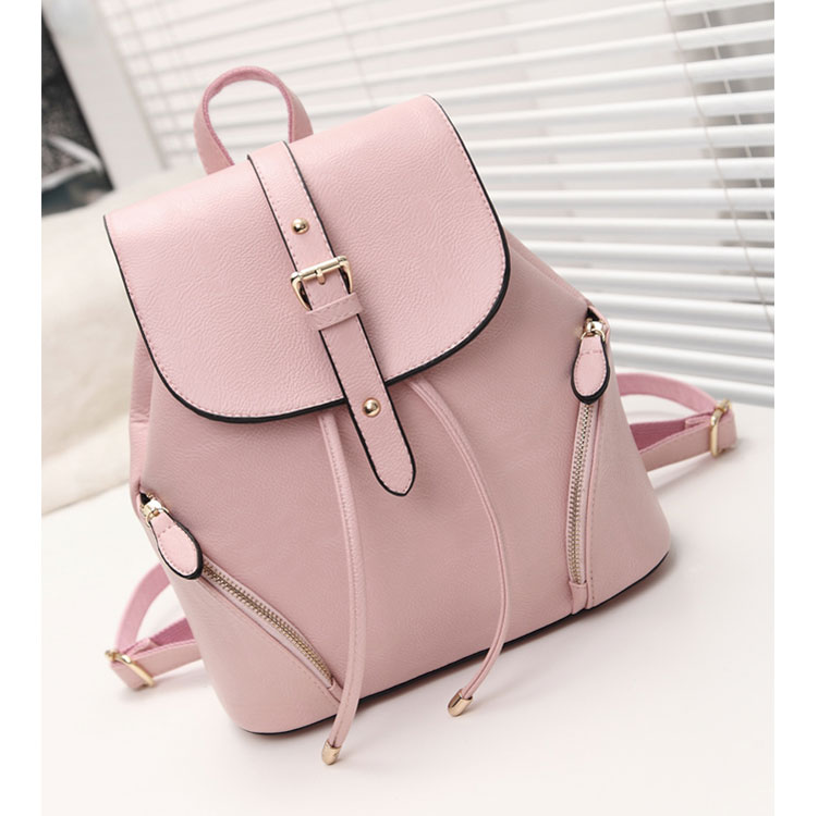 2019 New arrivals high quality waterproof leather girl school bags <strong>backpack</strong> women outdoor travelling <strong>backpack</strong>