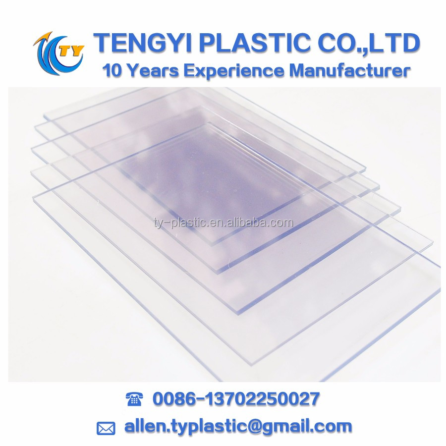 flexible transparent plastic sheet PVC Clear Sheet clear PVC Sheet