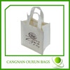 Wholesale 6-pack bottle wine tote bag