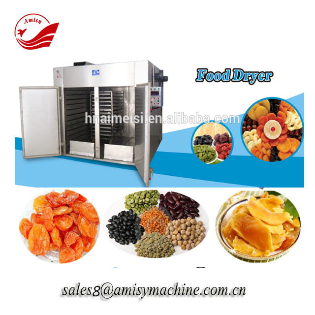 Industrial gas powered fresh fruit drying machine drying oven
