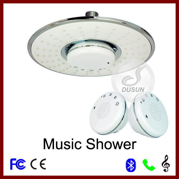 Latest 2 Generation Wireless Bluetooth Music And Phone Shower Head extension Shower