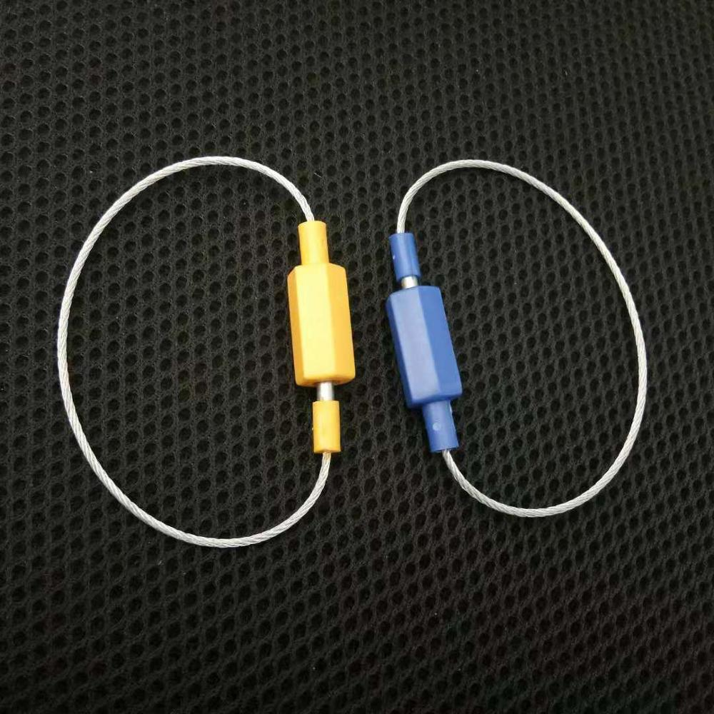 ISO standard serial number valves security cable tie