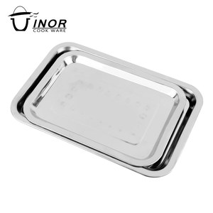 wholesale alibaba kitchen wares restaurant dishes metal tray from china