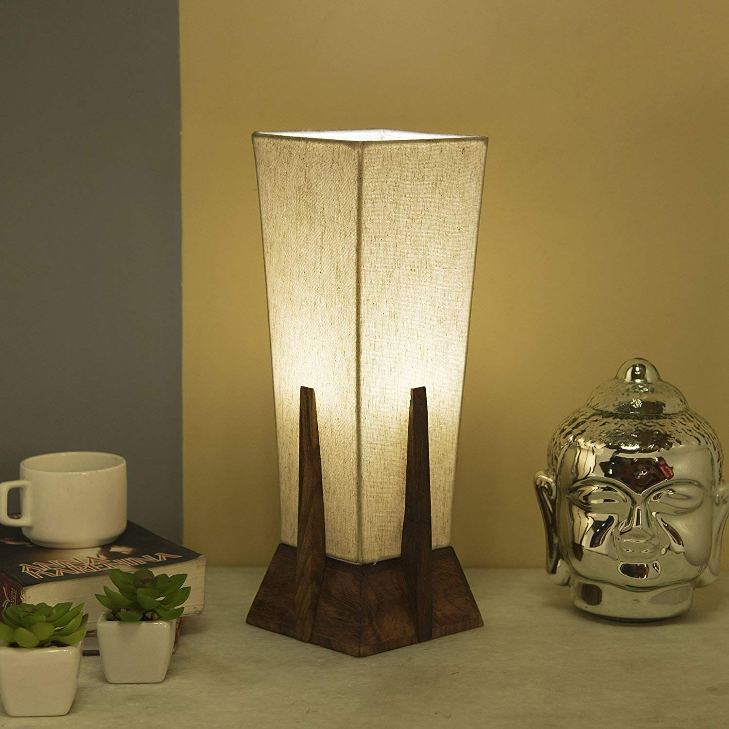 Buy DEEPLITE Bedside Table Lamp, Desk Lamp, Nightstand ...