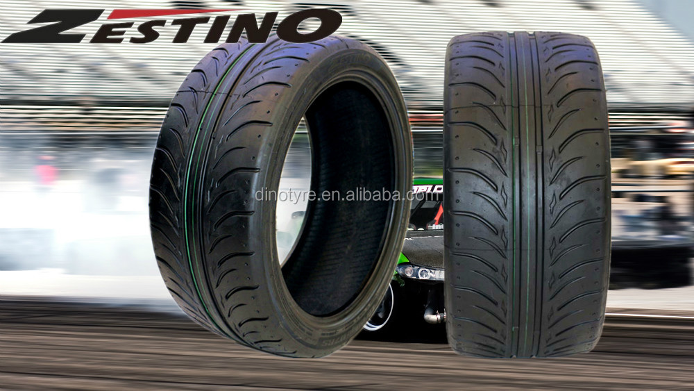 Zestino Slick Race Tire 215 45 17 Slick Drift Car Tires 225 40zr18