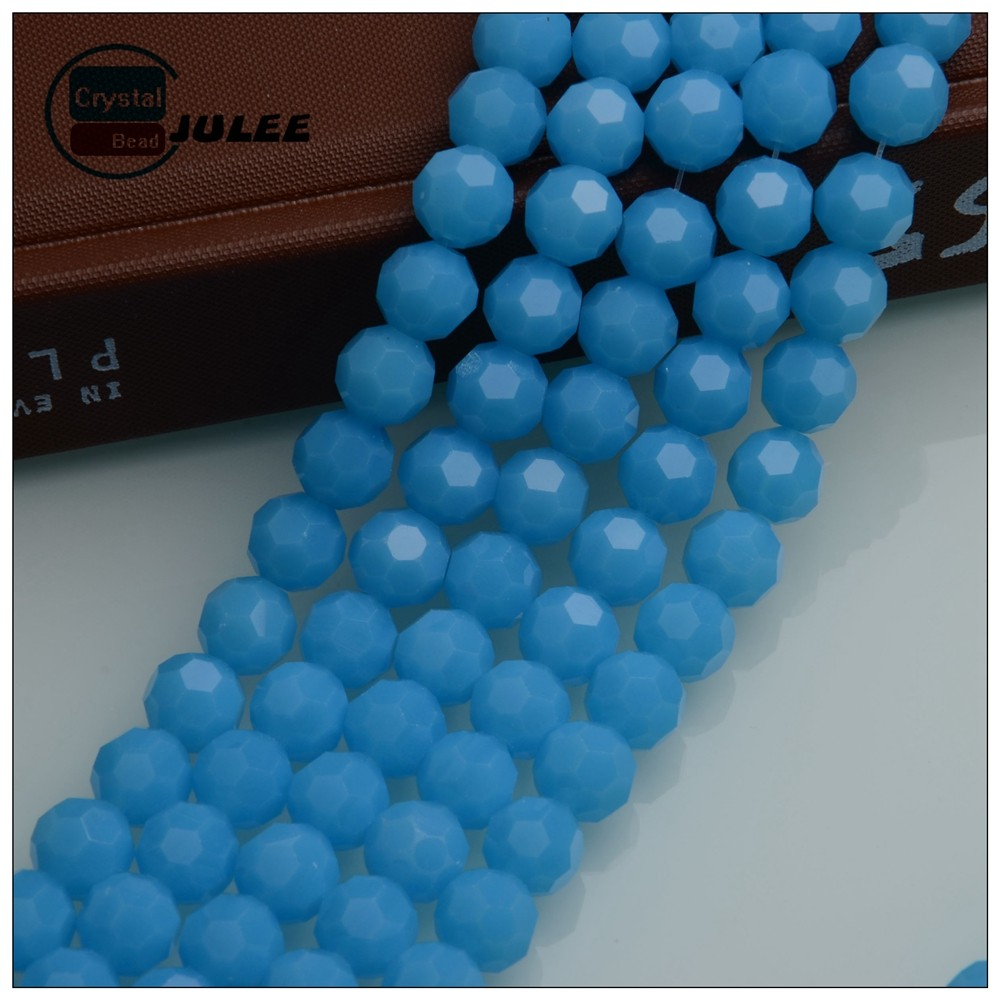 Pujiang crystal beads strands 32 Faceted Crystal Football Round Glass Bead Making Tools fashion all types of beads for clothes