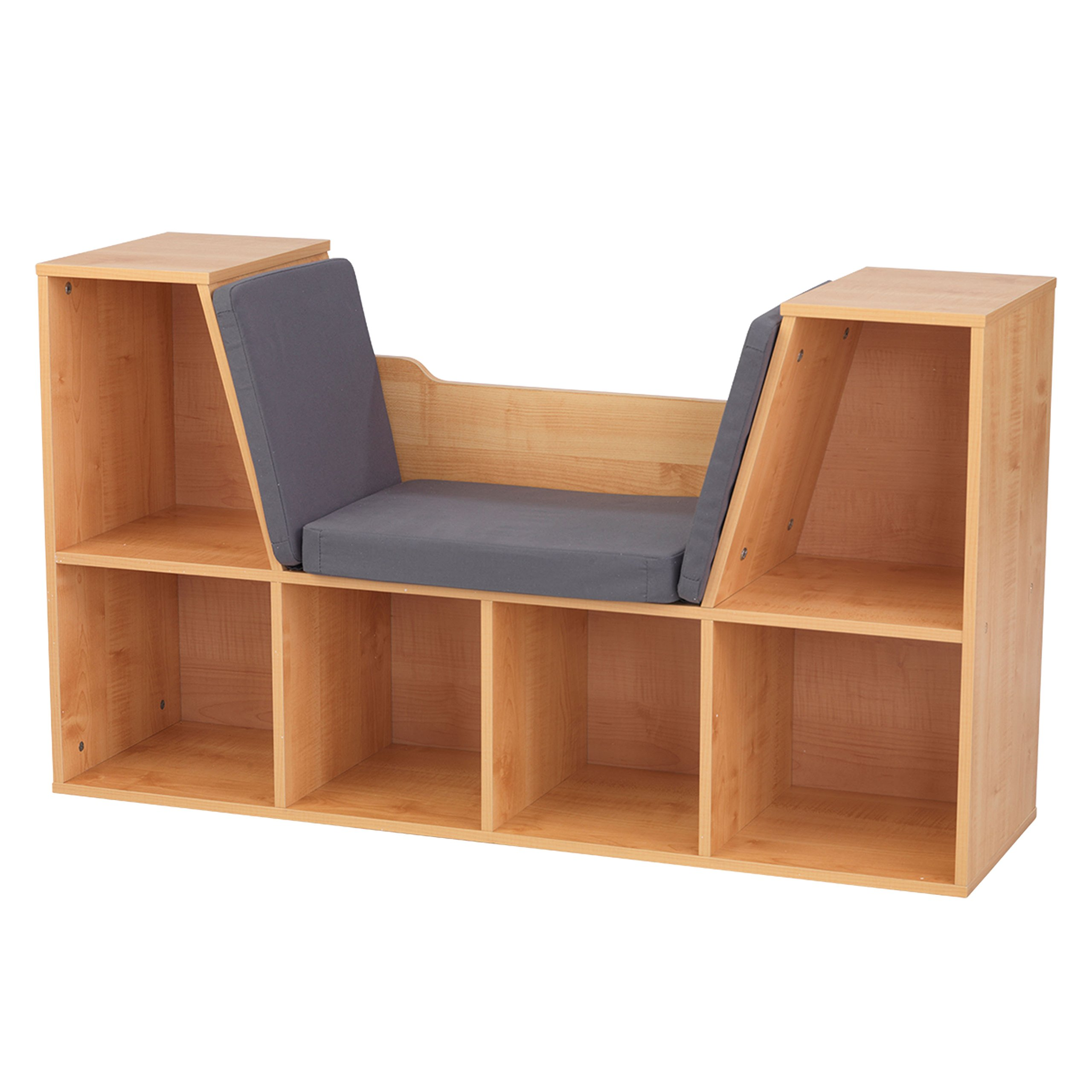 Get Quotations KidKraft Bookcase With Reading Nook Toy Natural