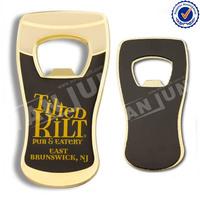 Cool beer bottle shape custom printint sticker fridge magnet bottle opener