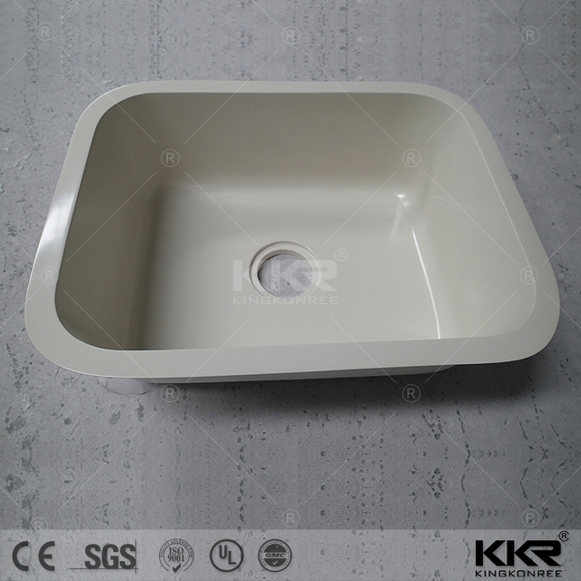 Rectangle Pure Acrylic Solid Surface Sinks,triple Bowl Kitchen Sink