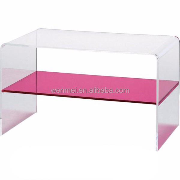 Acrylic Living Room Furniture Coffee Table With Wheels - Buy Acrylic ...