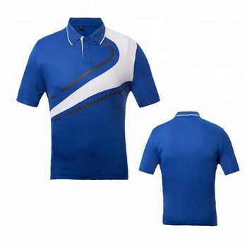 Wholesale 100%Polyester Color Combinations Polo T shirt Design