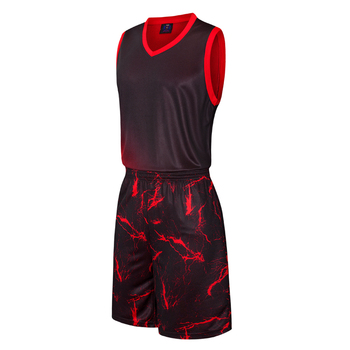 6cc8a6d2154 2019 Custom Best Latest Basketball Jersey Design China Manufacturer Basketball  Jersey Black And Red